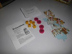Tortenschlacht - Ravensburger - Holzscheiben
