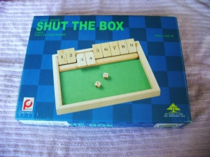 Shut the Box  pintoy