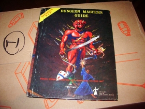 Advanced D&D: Dungeon Masters Guide  TSR
