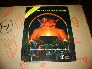 Advanced D&D: Players Handbook  TSR