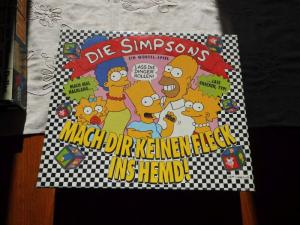 Die Simpsons Mach Dir keinen Fleck ins Hemd - MB - Folie