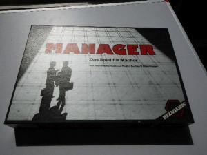 Manager - Hexagames - ungespielt - Folie