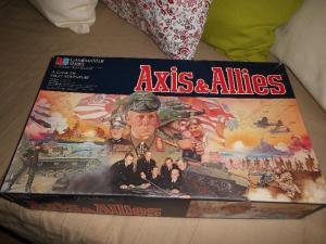 Axis und Allies - MB Gamemaster - englisch - !!!UNGESPIELT!!!