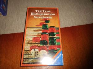 Tric Trac-Backgammon-Surakarta - Casino-Serie - Ravensburger