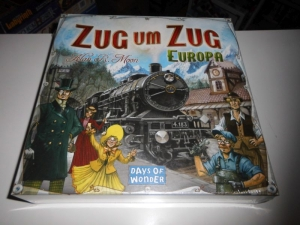 Zug um Zug - Europa - Days of Wonder - Folie