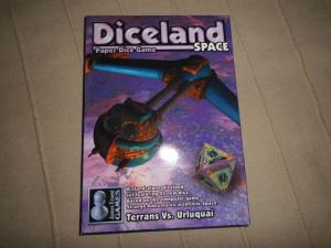 Diceland - Paper Dice Game - Terrans Vs Urluquai - James Ernst Games