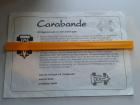Carabande - Gerade-Bande - Goldsieber